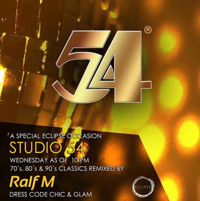 Studio 54 BCN Wednesday