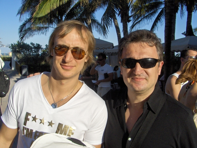 In Miami with David Guetta
